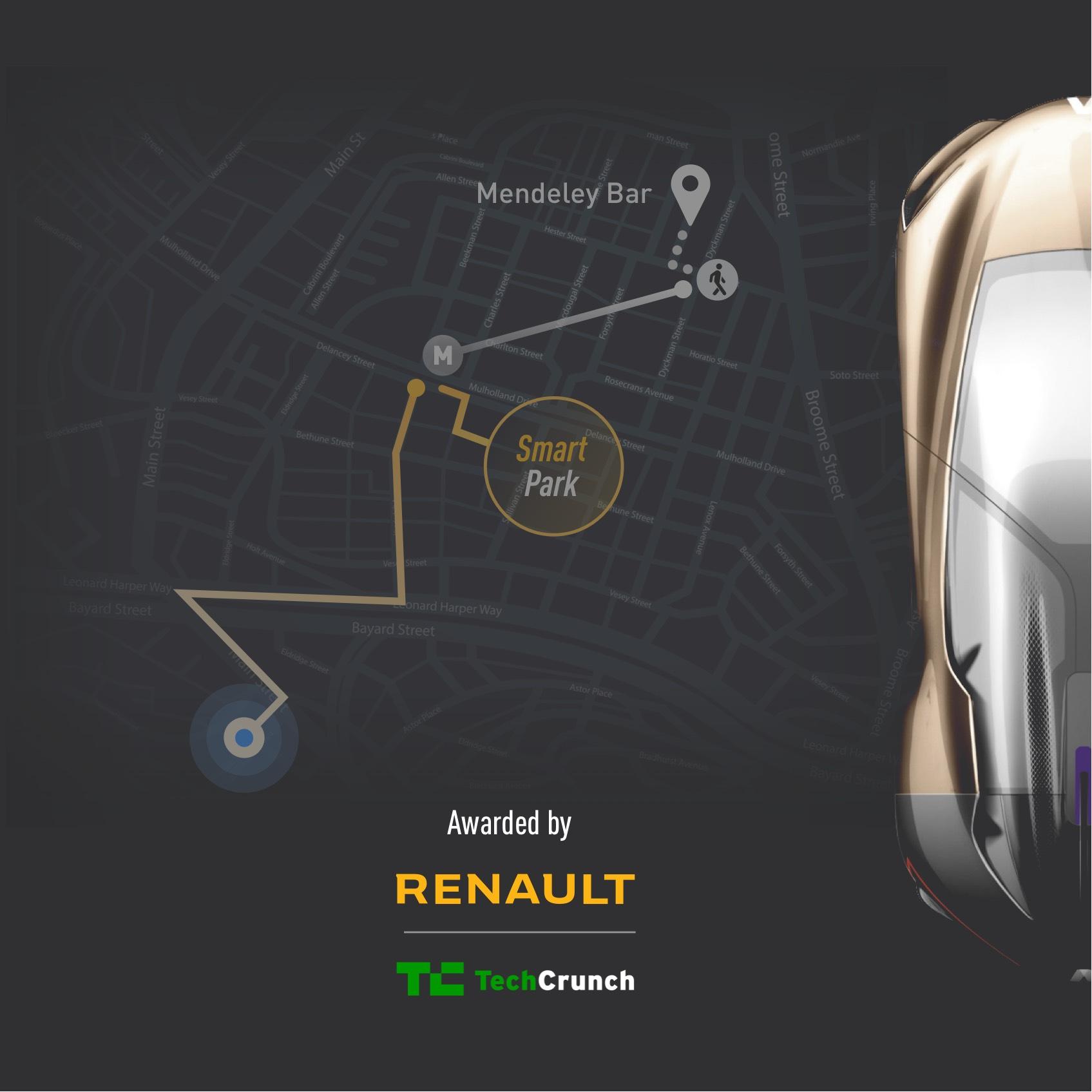 App for Renault Symbioz Autonomous Car